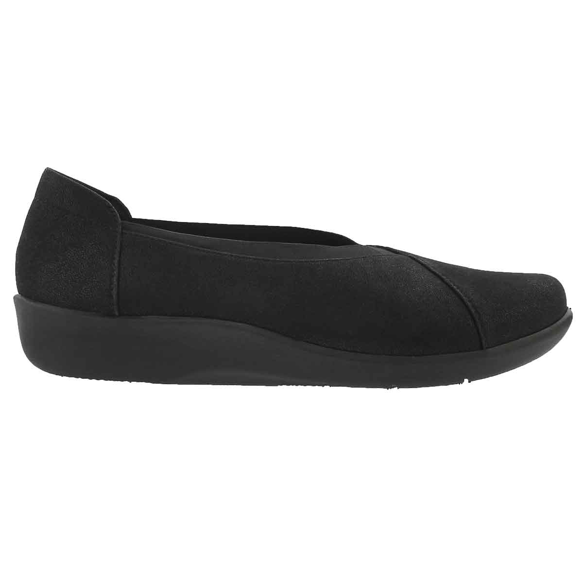 Lds Sillian Holly black casual loafer