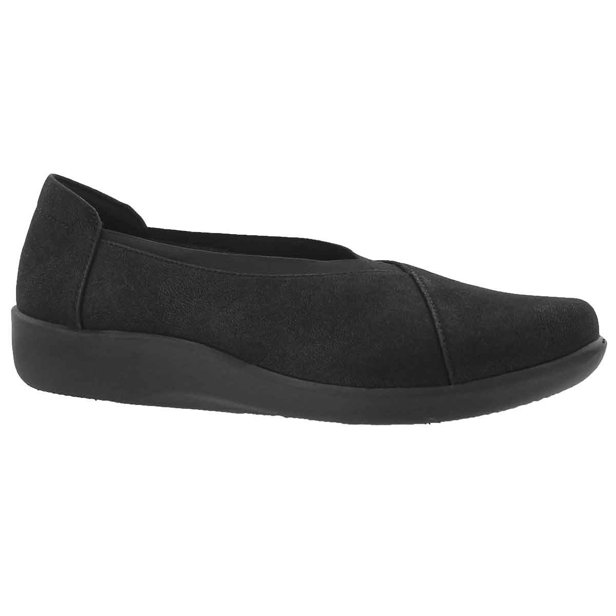 Women's SILLIAN HOLLY black casual loafers