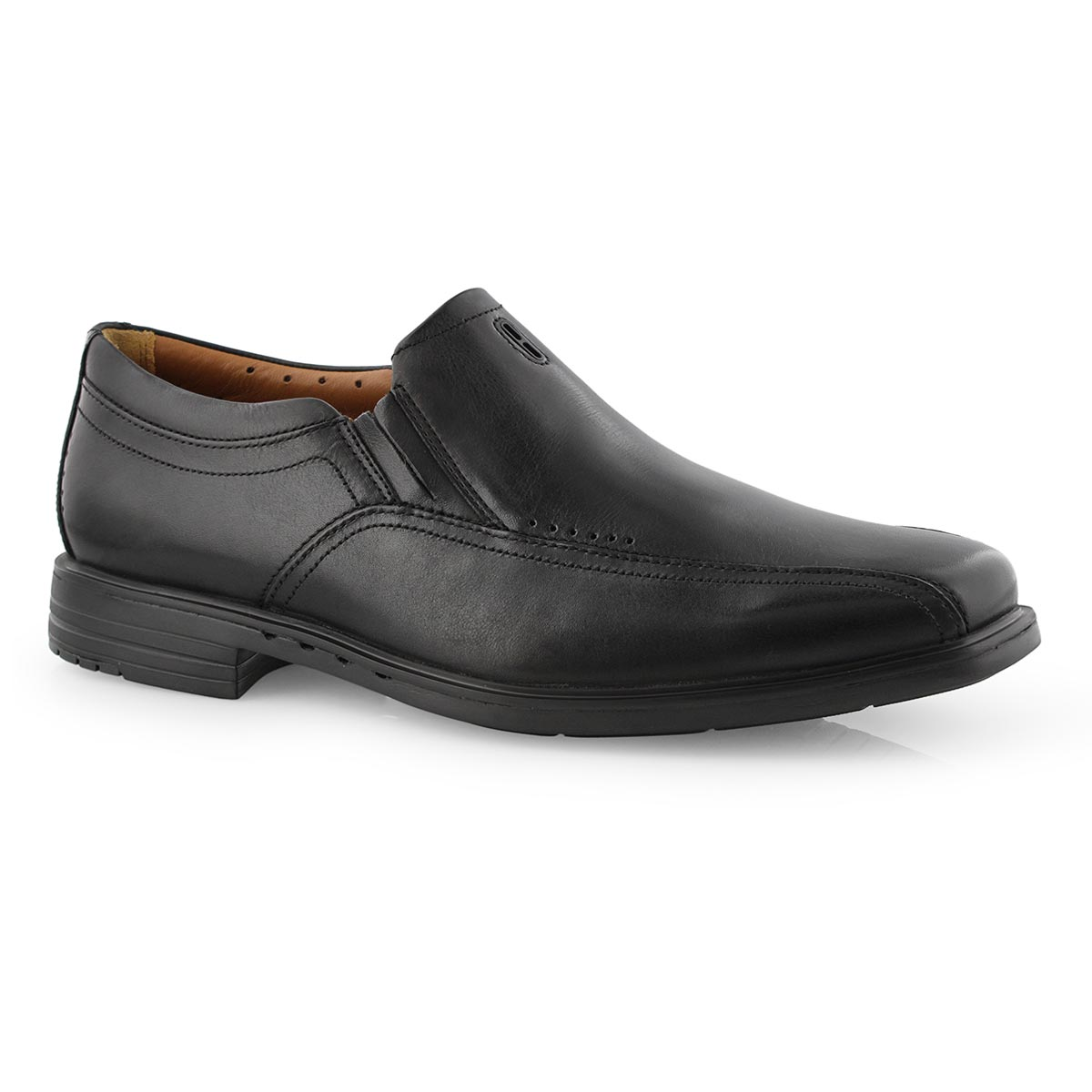 Mns UnSheridan Go black dress shoe-wide