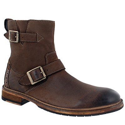 Mns Clarkdale Cash brown ankle boot