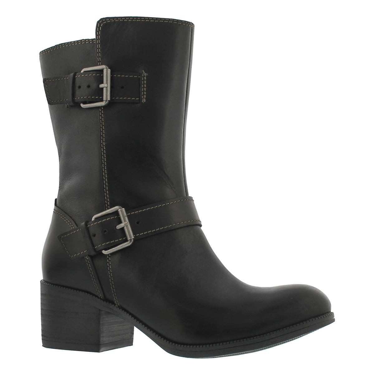 Women's MAYPEARL OASIS black mid-calf boots