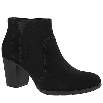 Lds Enfield Senya black dress bootie