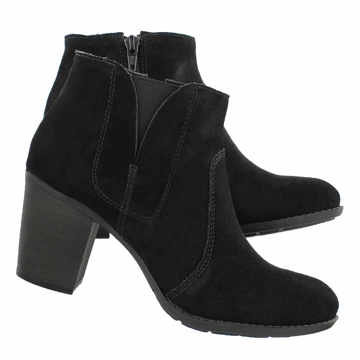 Lds Enfield Senya black dress bootie