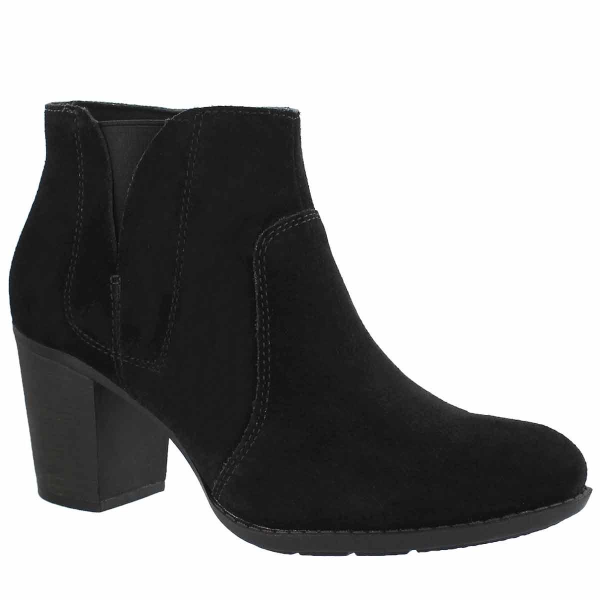 Women's ENFIELD SENYA black dress booties