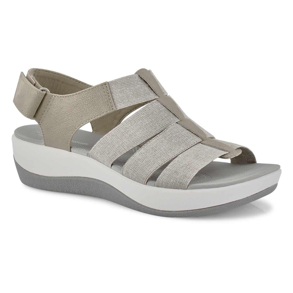 Women's ARLA SHAYLIE sand casual wedge sandals