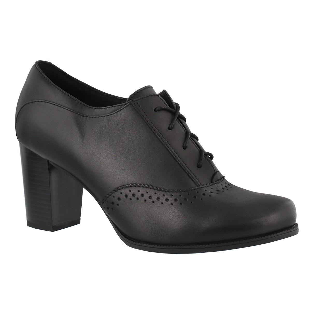 Lds Claeson Pearl black dress heel