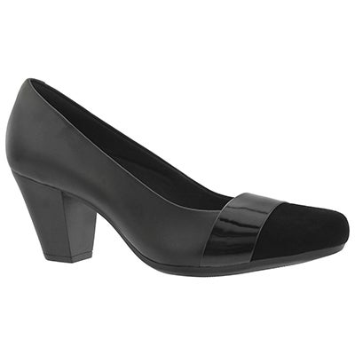 Lds Garnit Lucia black dress heel