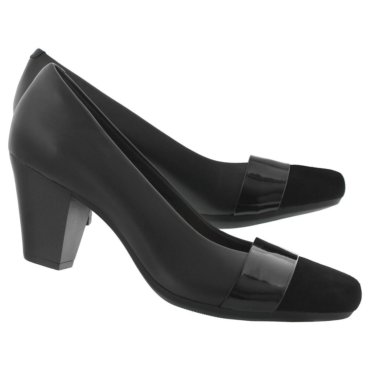 Lds Garnit Lucia black dress heel