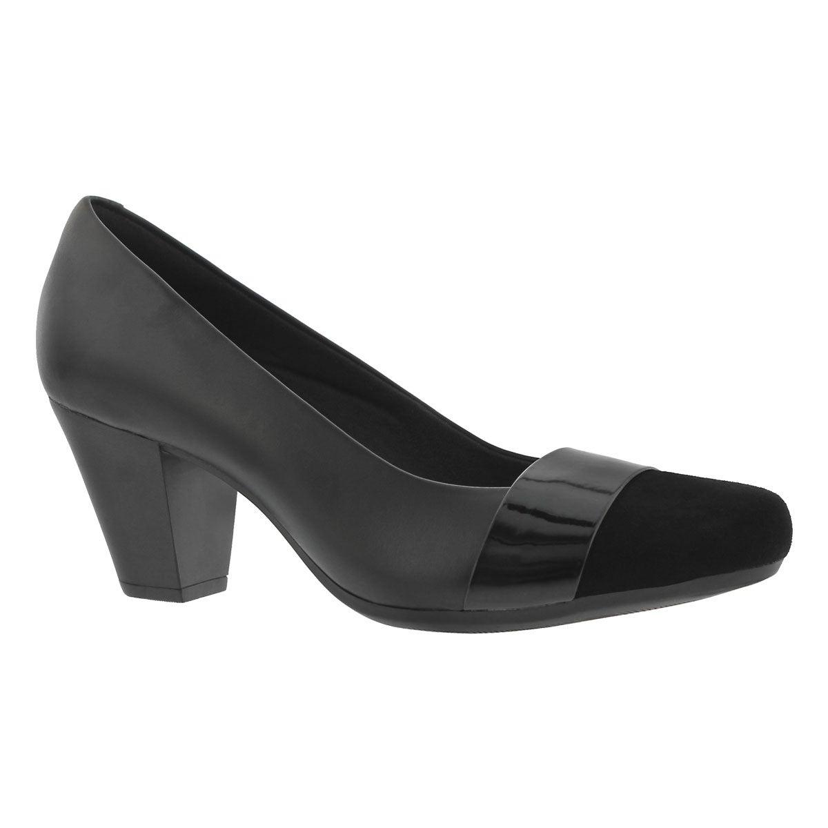 Women's GARNIT LUCIA black dress heels