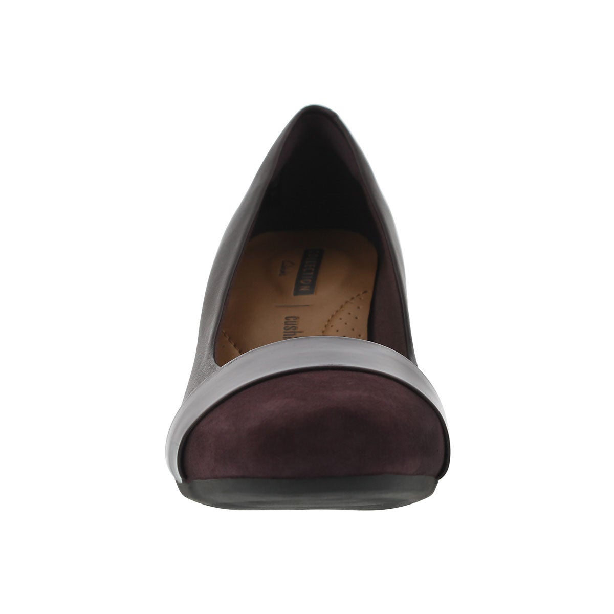 Lds Garnit Lucia aubergine dress heel