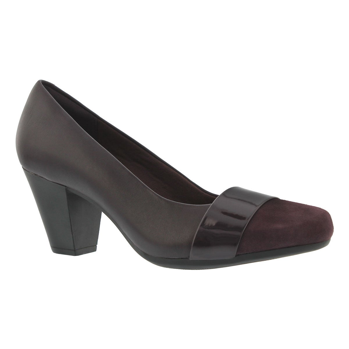 Women's GARNIT LUCIA aubergine dress heels