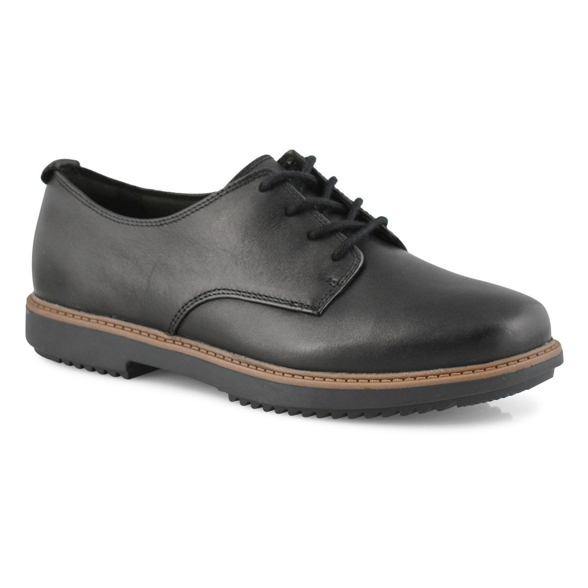 Lds Raisie Bloom blk casual oxford