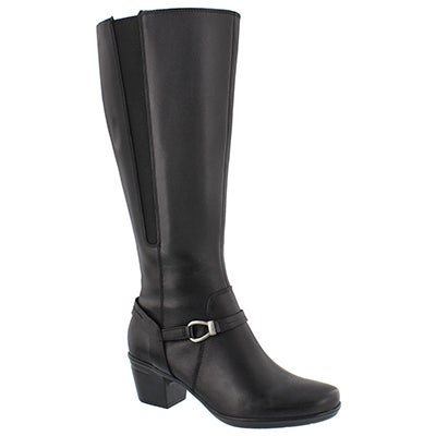 Lds Emslie Sinai blk tall dress boot