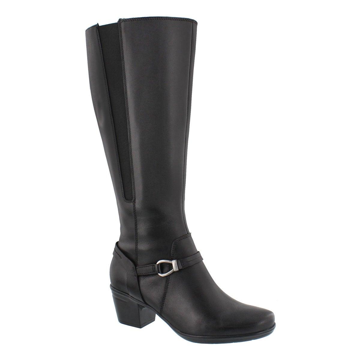 Women's EMSLIE SINAI black tall dress boots