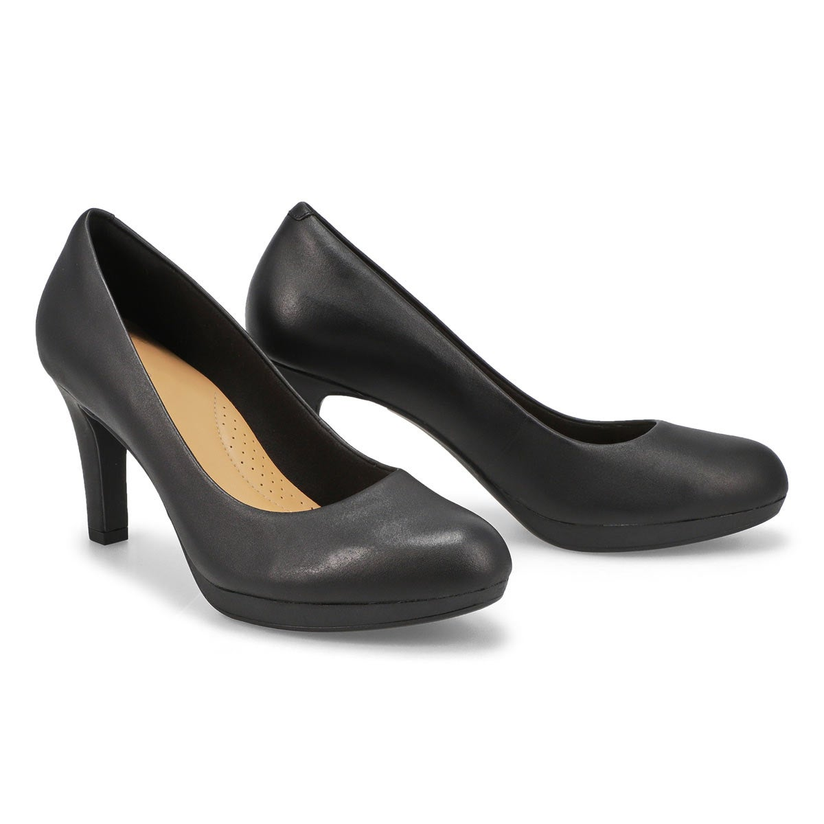 Lds Adriel Viola black dress heel