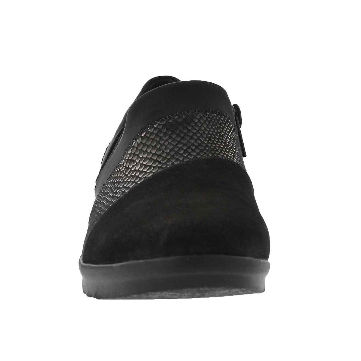 Lds Caddell Denali black wedge slip on