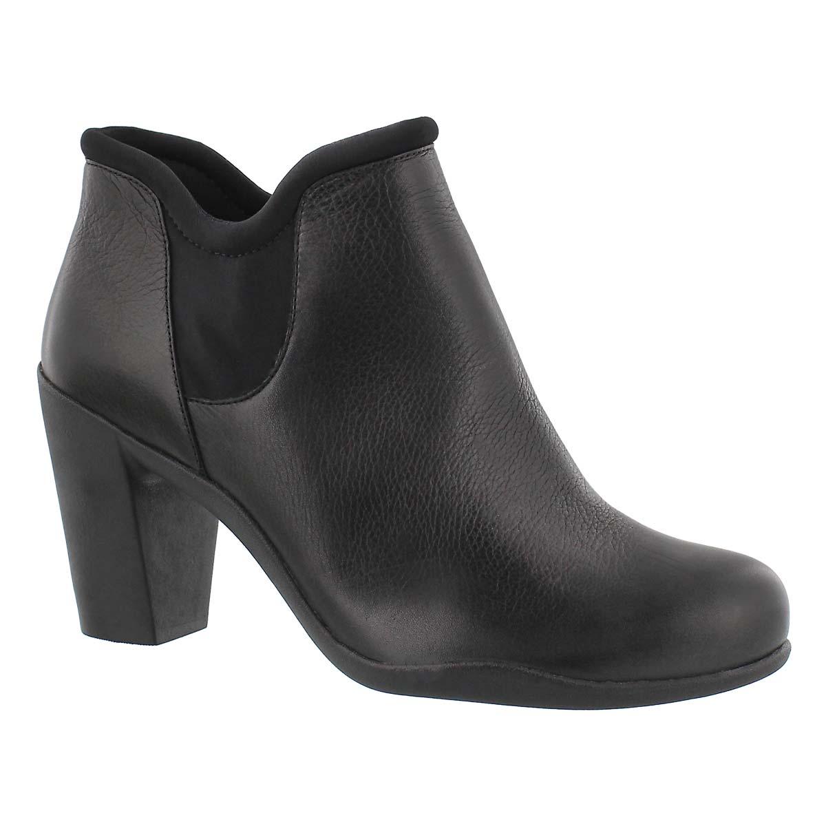 Women's ADYA BELLA black dress booties