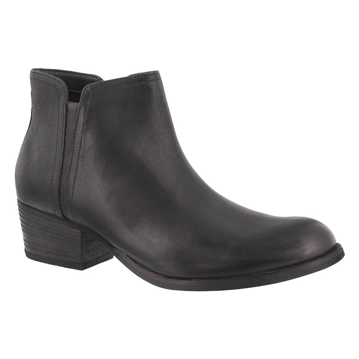 Women's MAYPEARL RAMIE black slip on booties