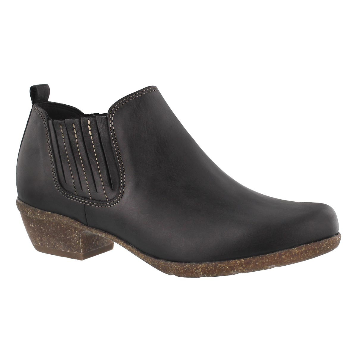 Women's WILROSE JADE black slip on casual boots