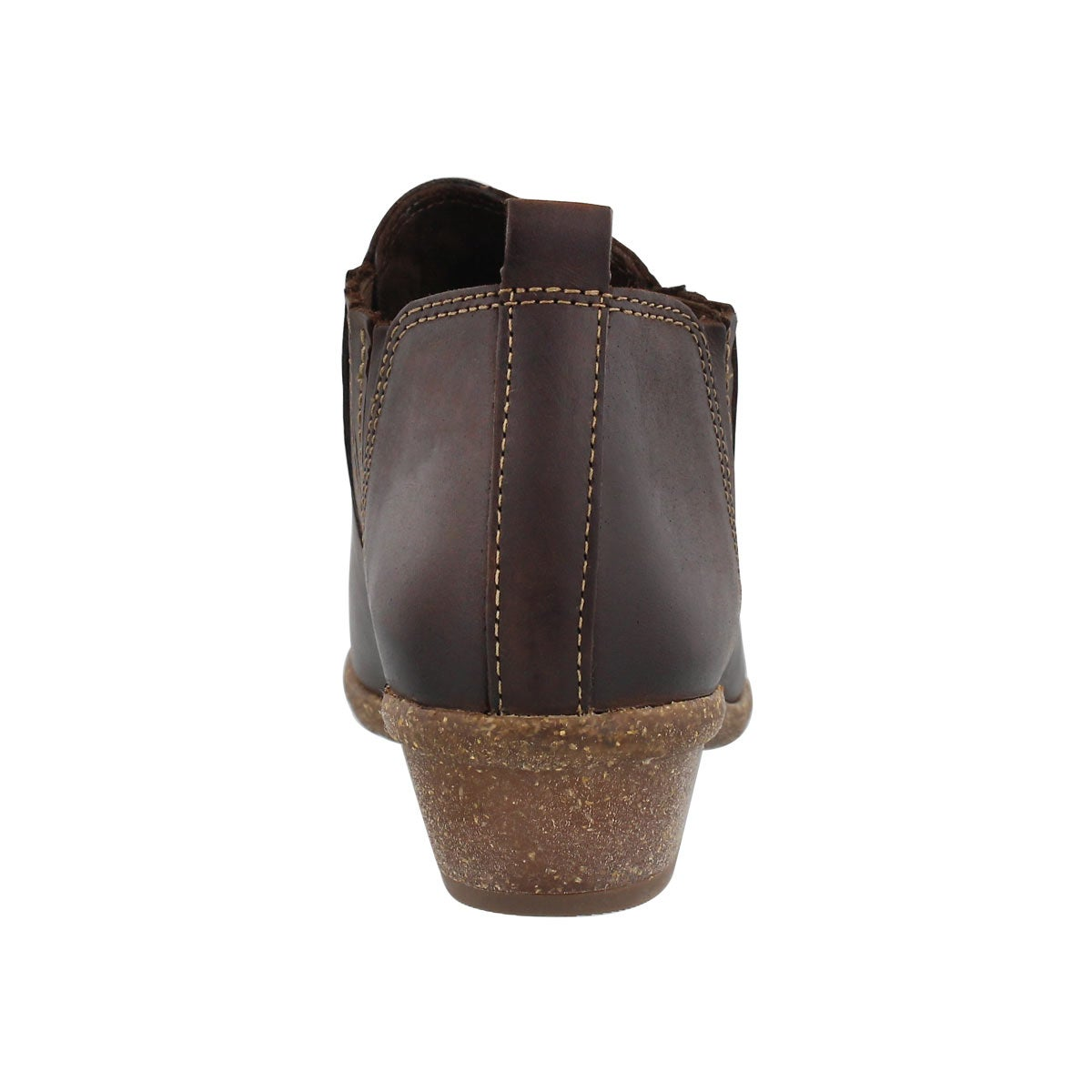 Lds Wilrose Jade brn slip on casual boot