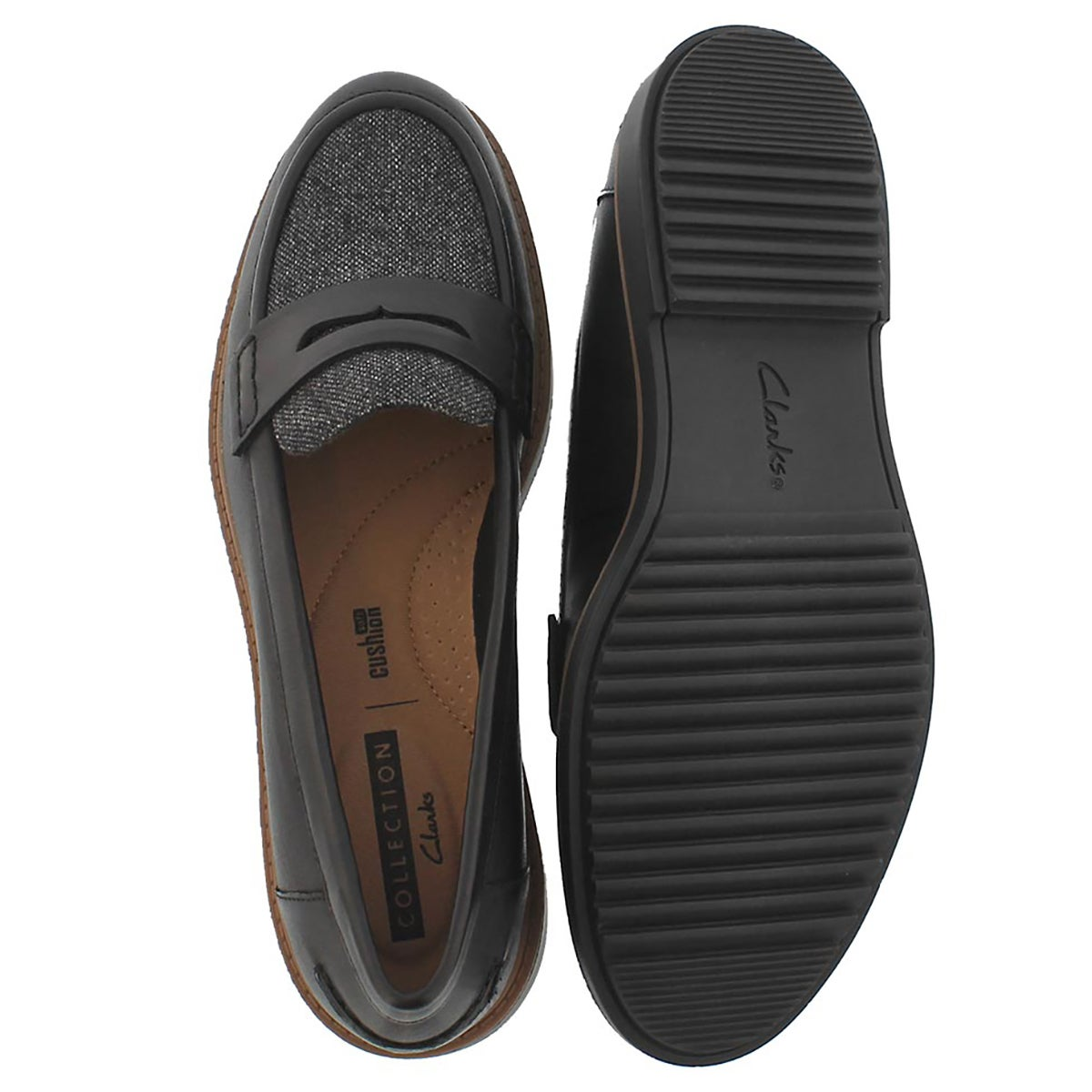 Lds Raisie Eletta blk casual loafer