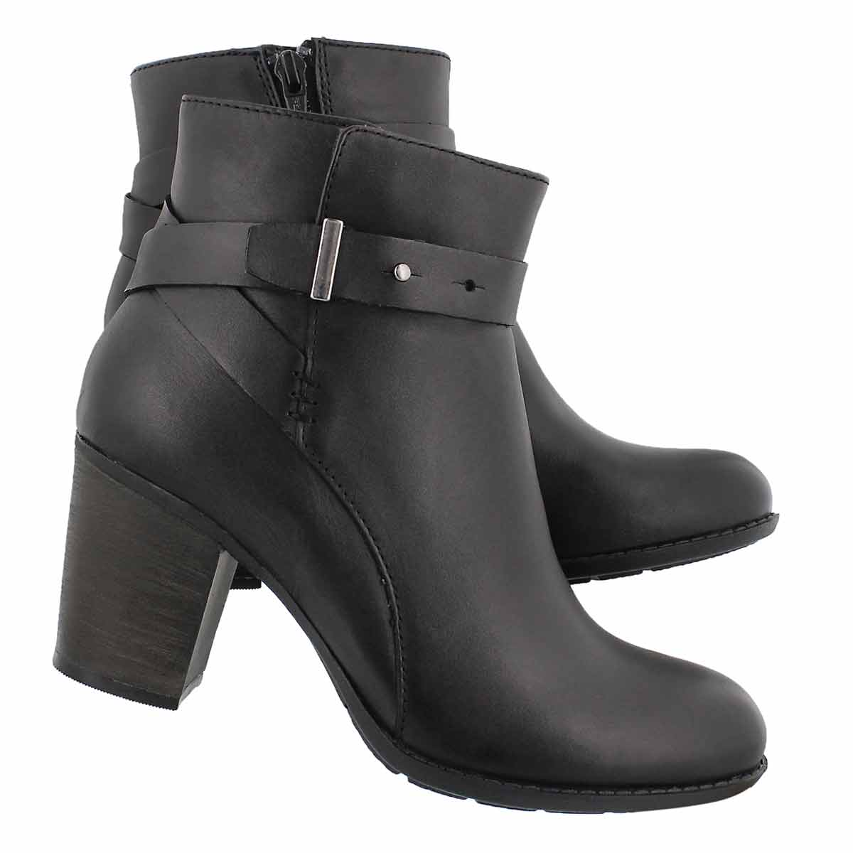 Lds Enfield Sari black dress bootie