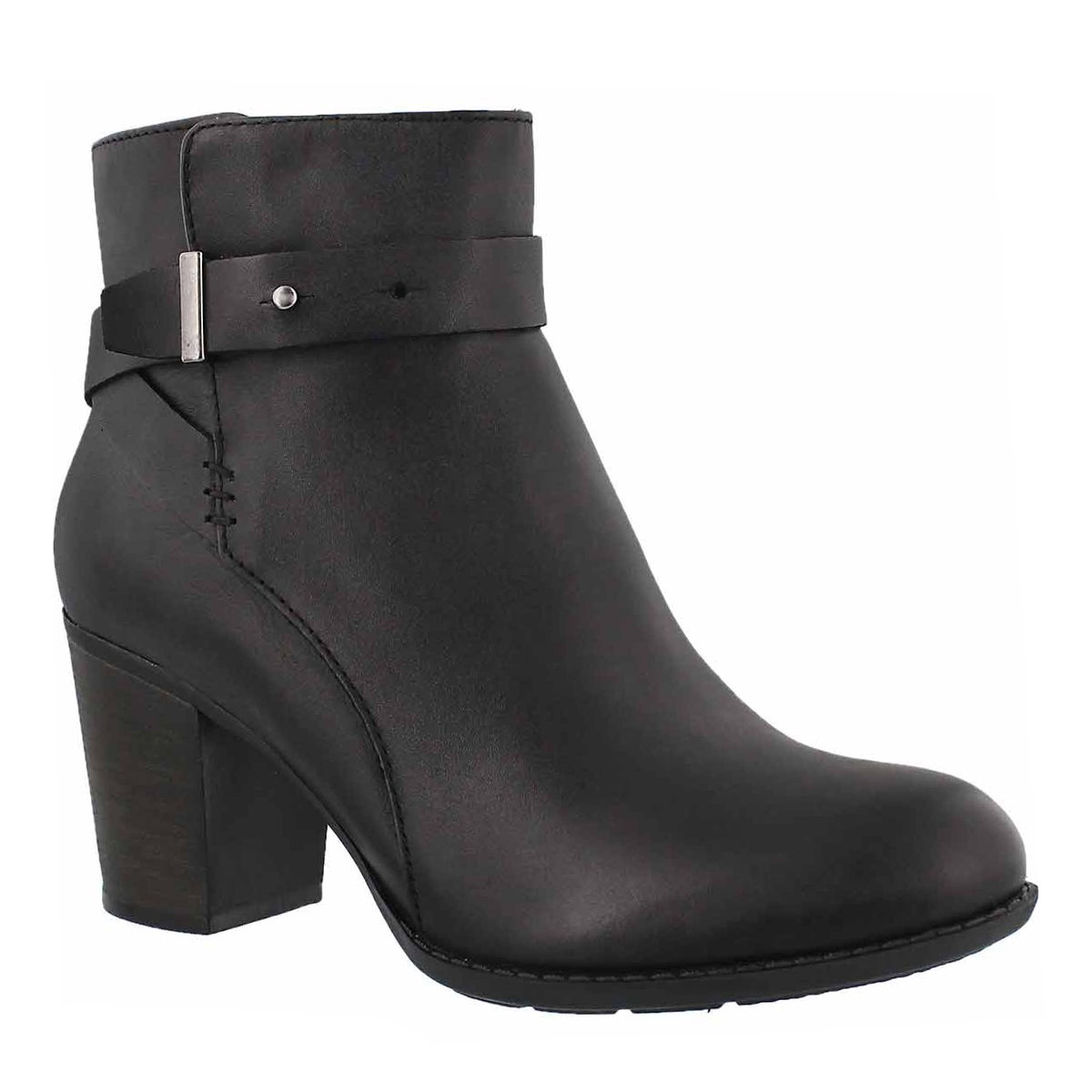 Women's ENFIELD SARI black dress booties