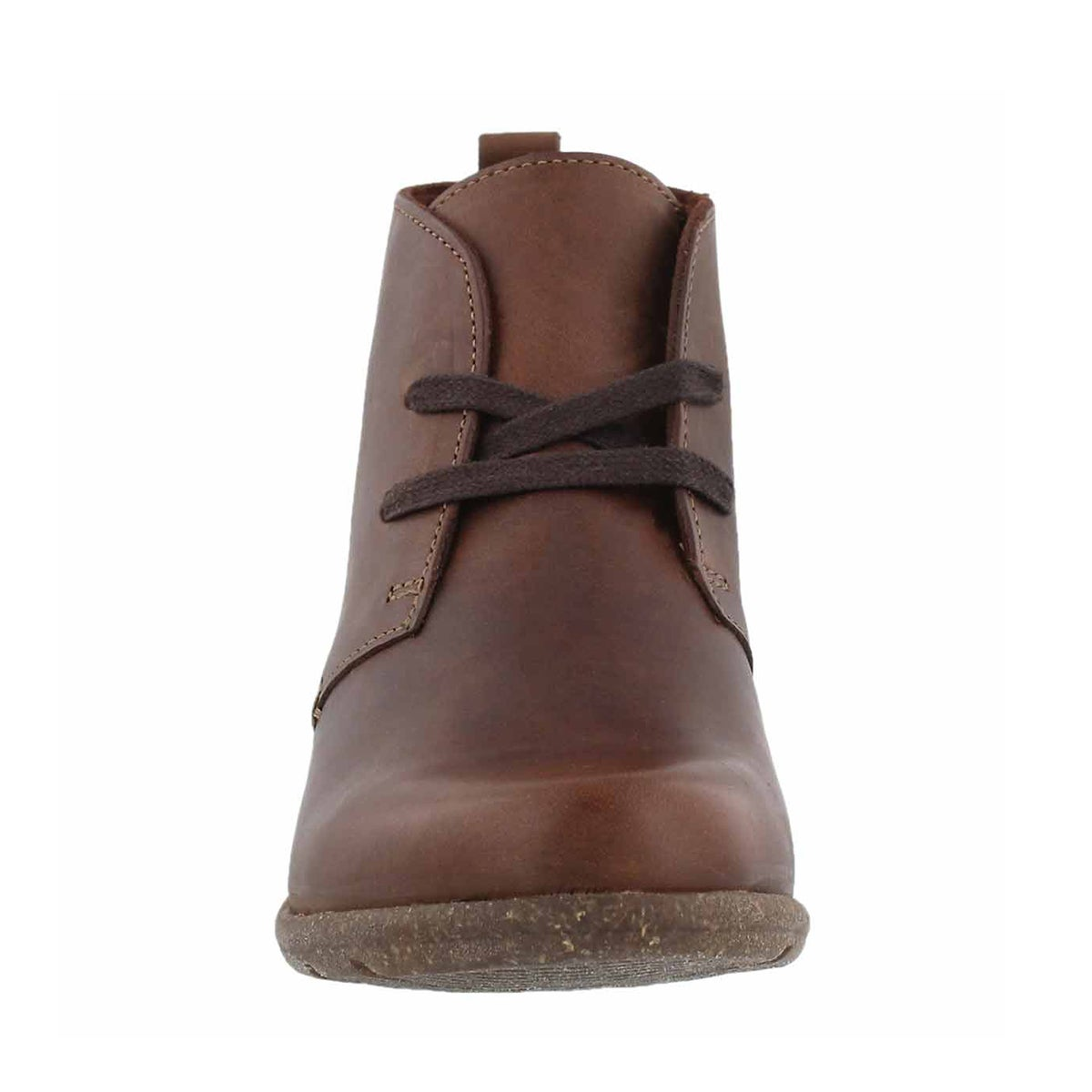 Lds Wilrose Sage brn lace up bootie