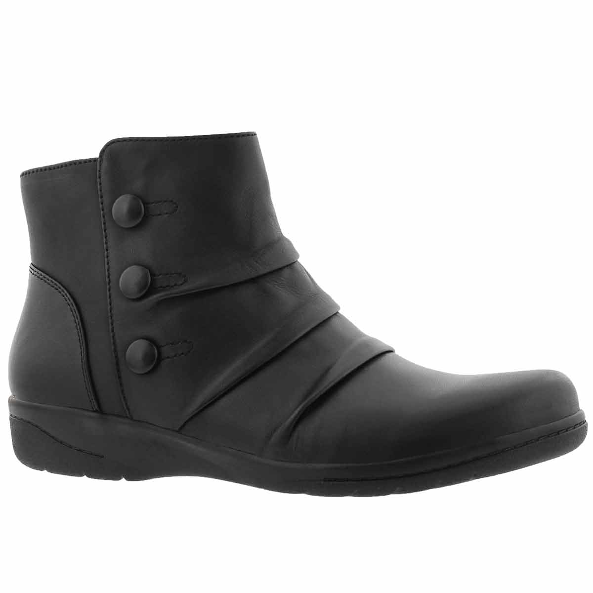 Women's CHEYN ANNE black casual ankle boots