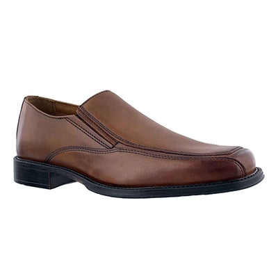 Mns Driggs Free cognac dress slip on