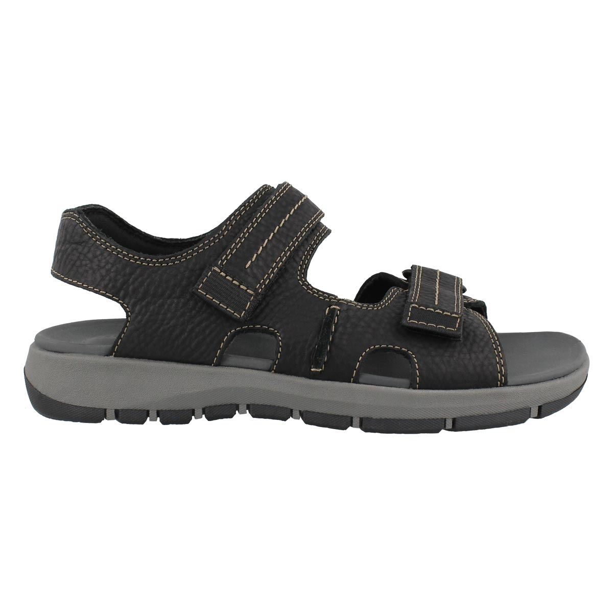 Mns Brixby Shore black casual sandal