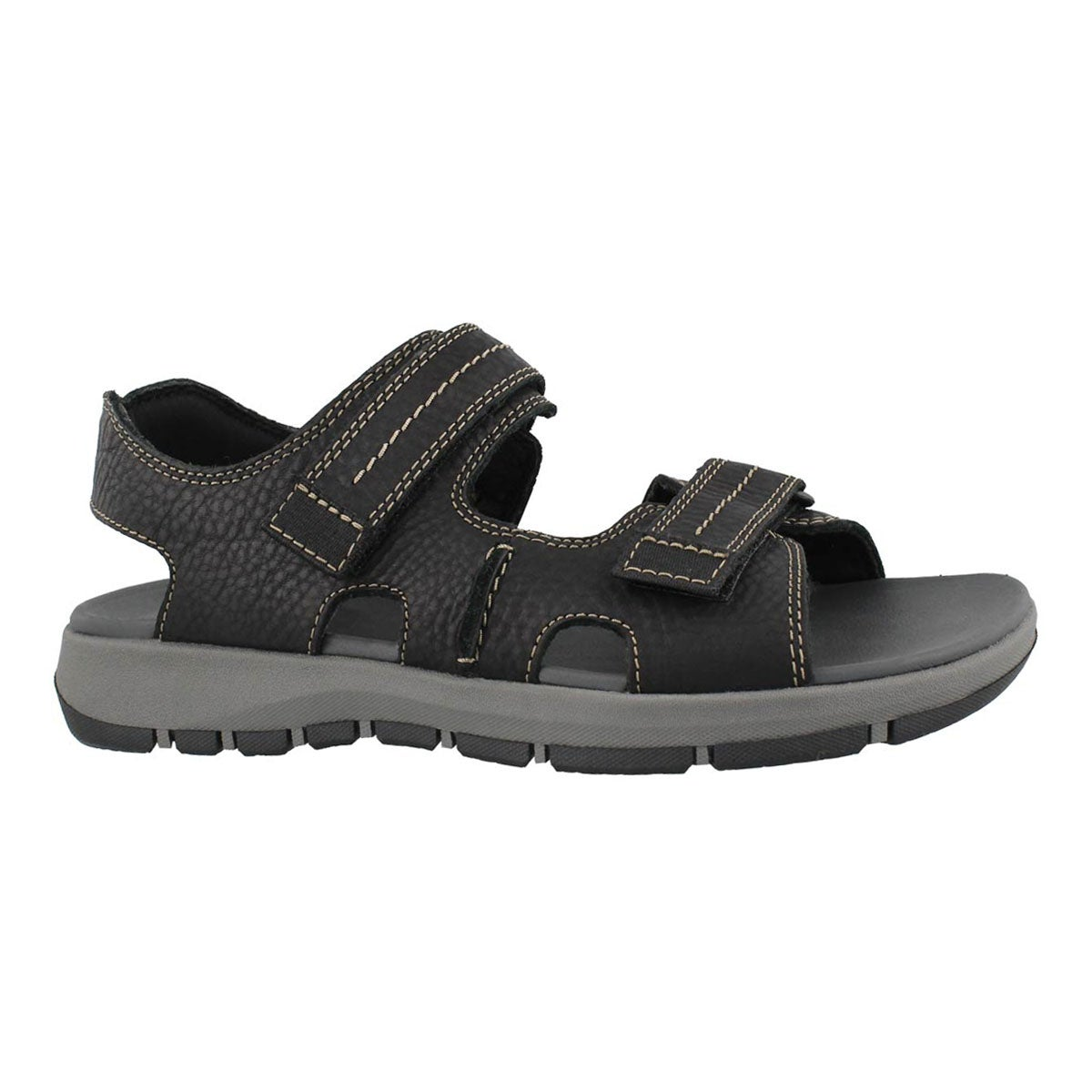 Men's BRIXBY SHORE black casual sandals