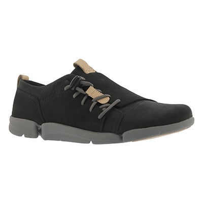 Lds Tri Camilla black lace up sneaker
