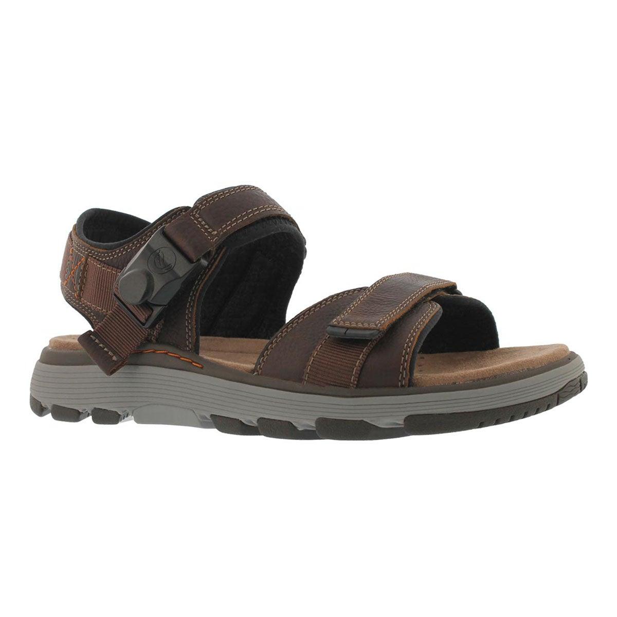 Men's UNTREK PART dark tan casual sandal