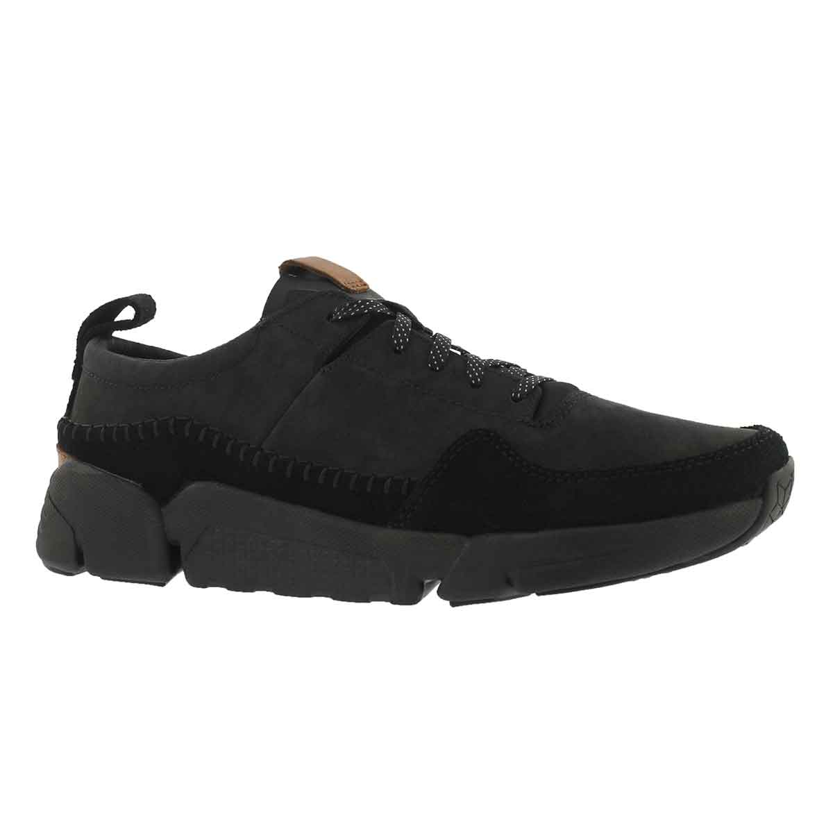 Men's TRIACTIVE RUN black lace up sneakers