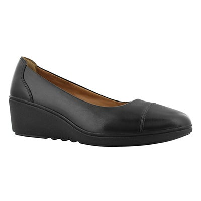 Lds Un Tallara Dee wedge dress shoe