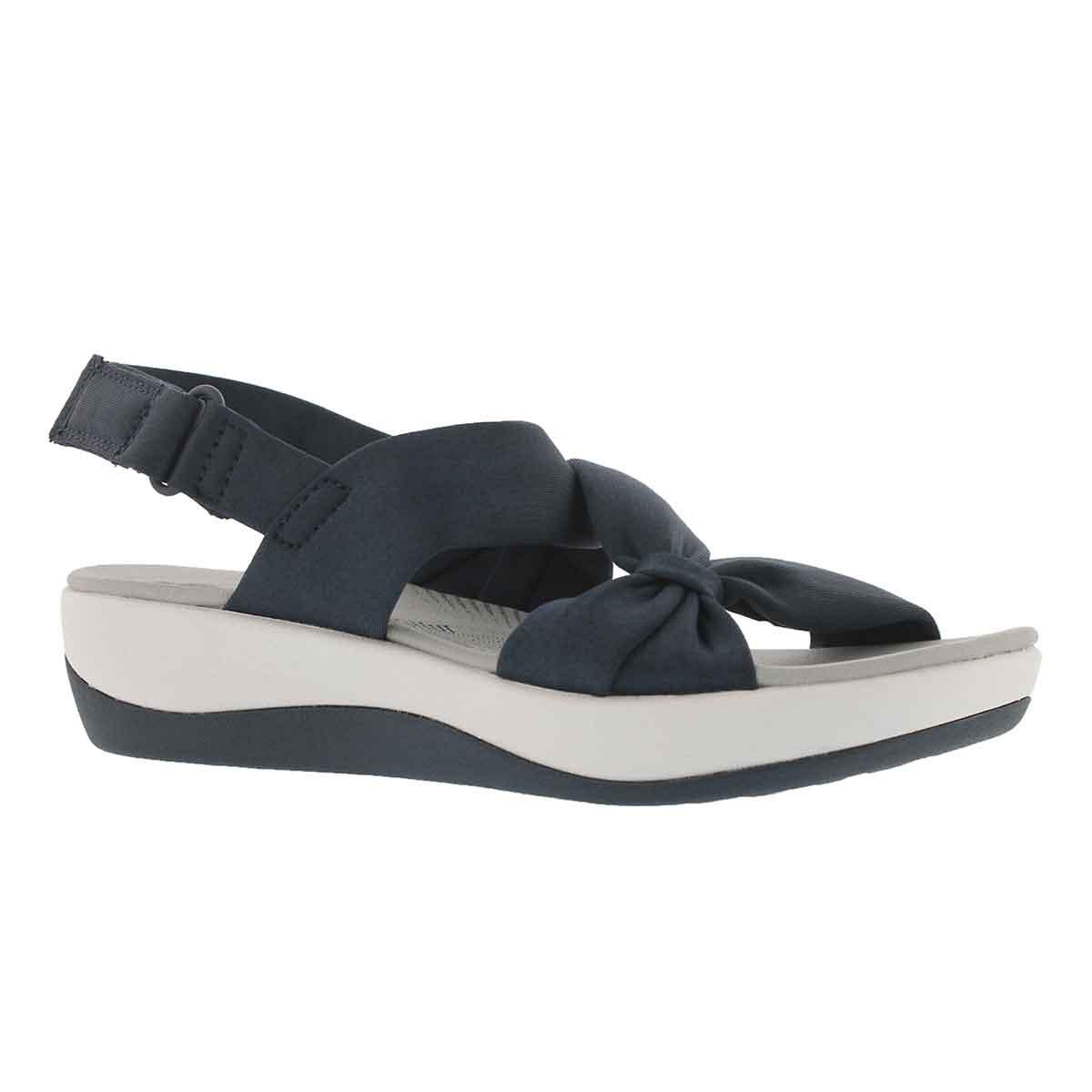 Women's ARLA PRIMROSE blue wedge sandals