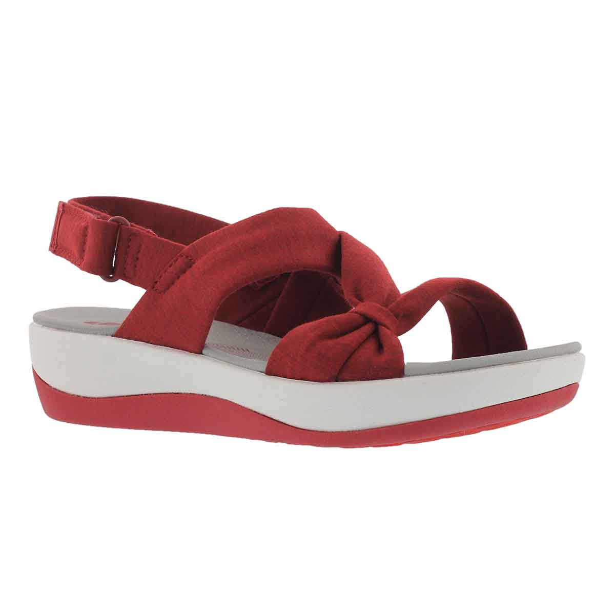 Women's ARLA PRIMROSE red wedge sandals