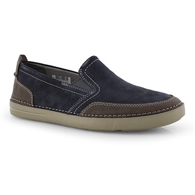 Mns Gosler Race blue casual slip on