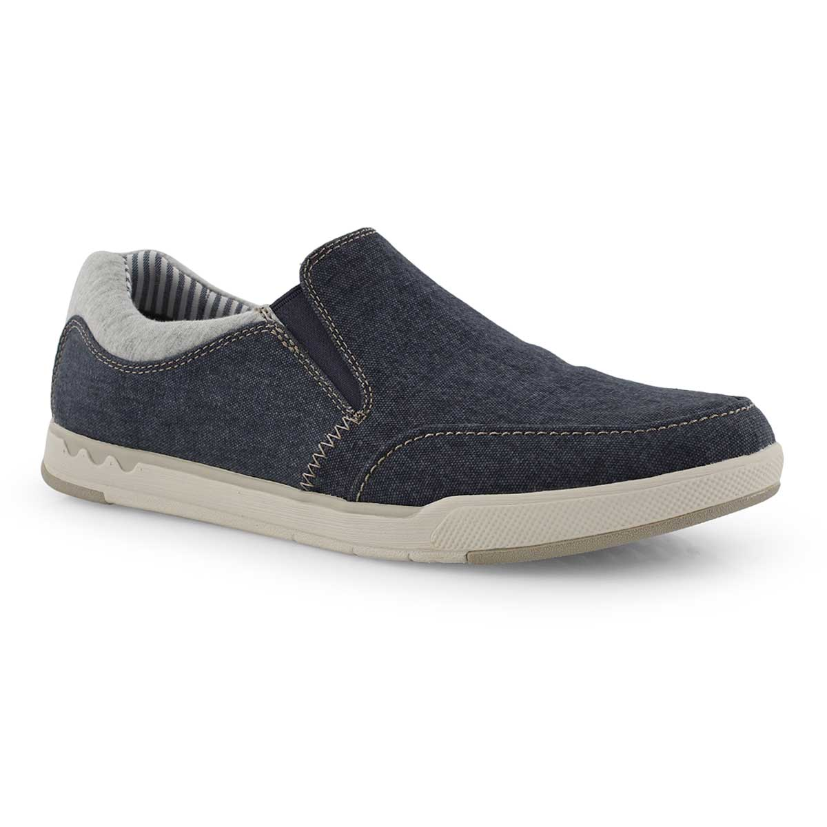 Mns Step Isle Slip navy casual shoe