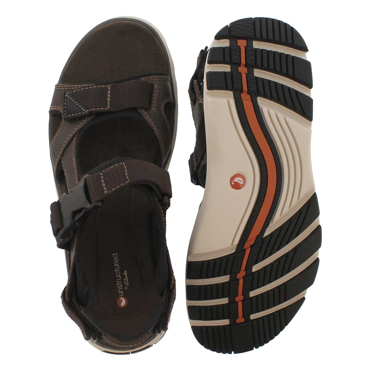 Mns UnTrek Bar olive casual sandal