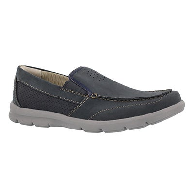 Mns Jarwin Race navy casual slip on shoe
