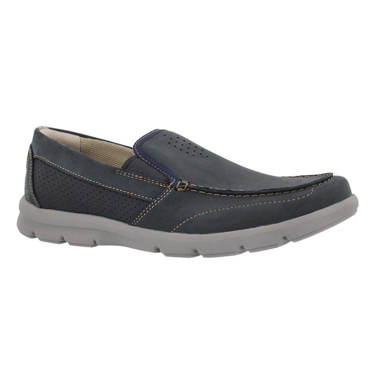 Men's JARWIN RACE navy casual slip on shoes