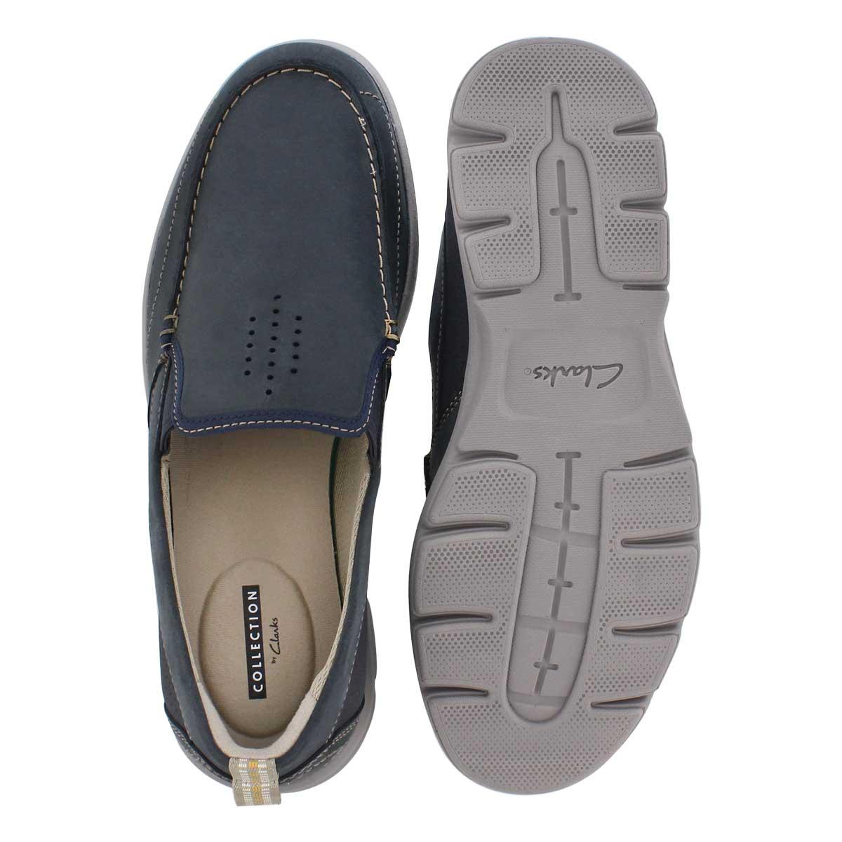 Mns Jarwin Race navy casual slip on shoe