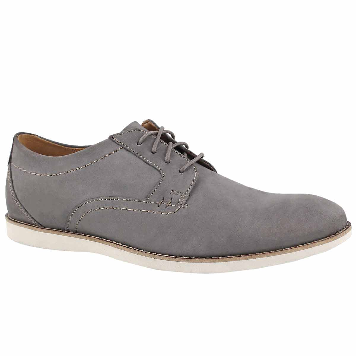 Mns Raharto Plain dk grey dress oxford
