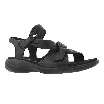 Lds Saylie Moon black casual sandal