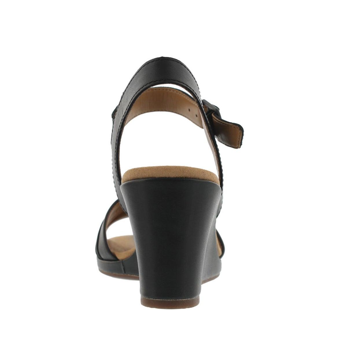 Lds Lafely Aletha black wedge sandal