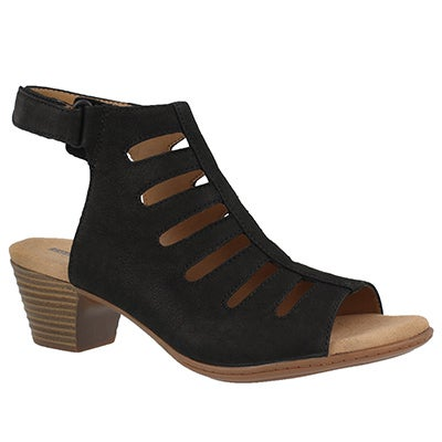Lds Valarie Shelly black dress sandal