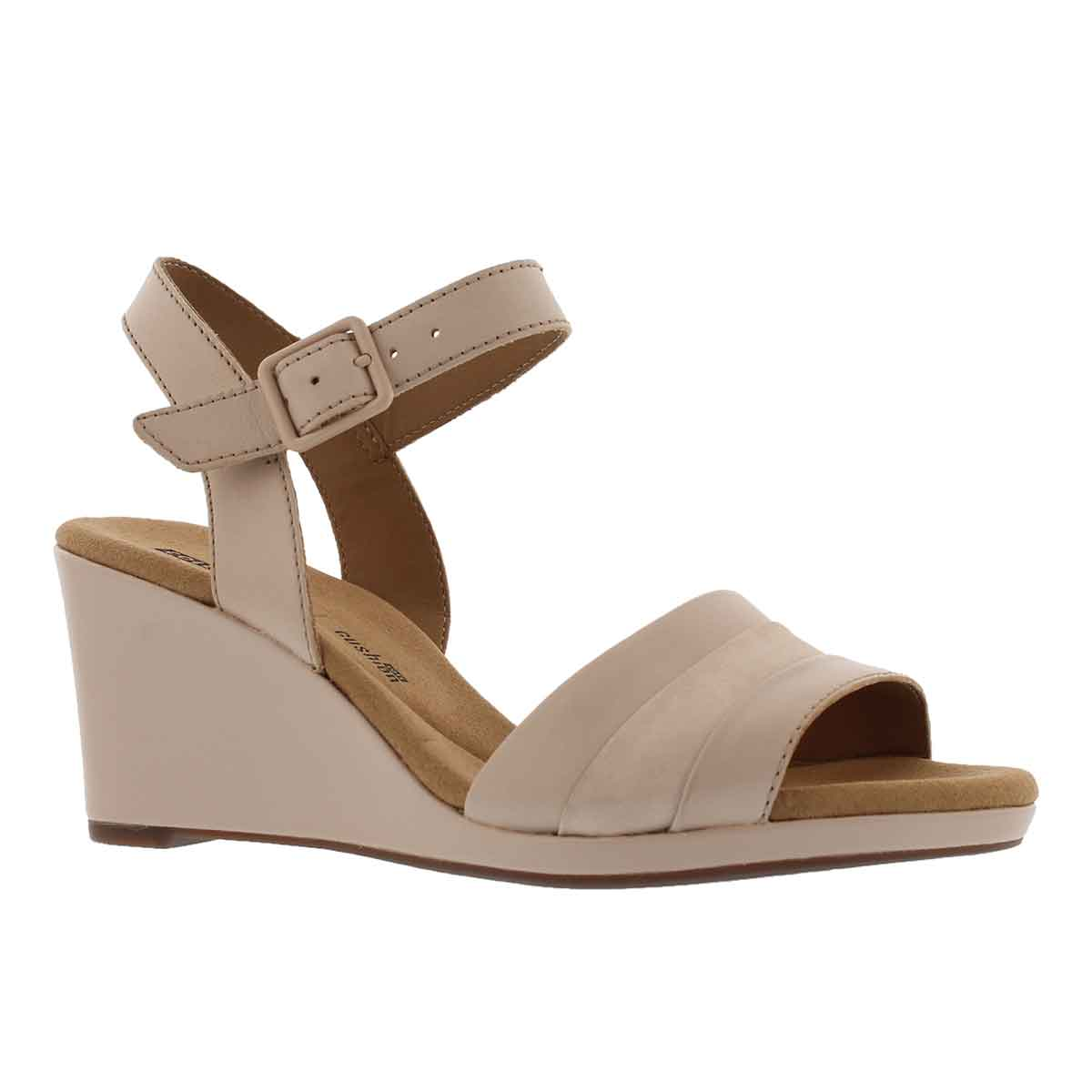 Women's LAFELY ALETHA dusty pnk wedge sandals