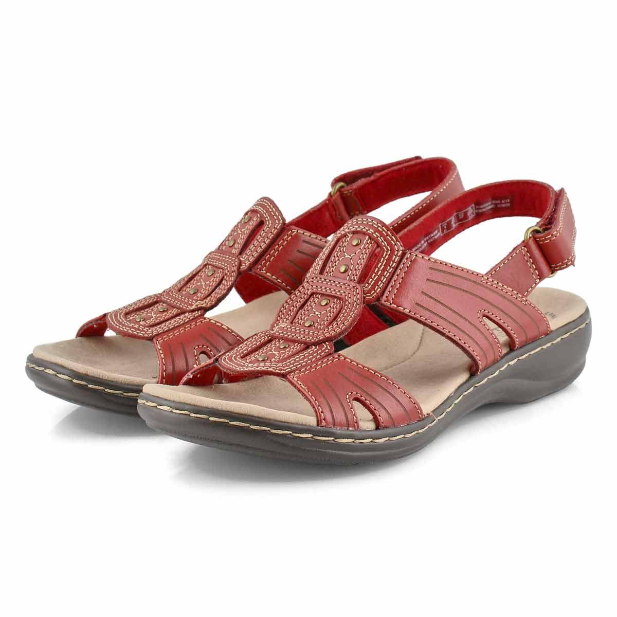 Sandale déc. Leisa Vine, rouge, fem.